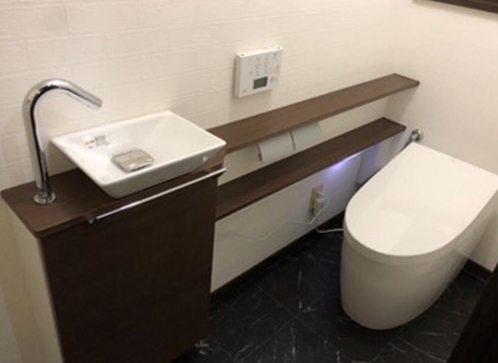 トイレ 差し替え
