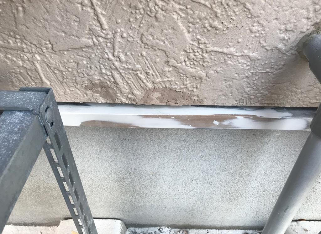 水切り外壁 欠損